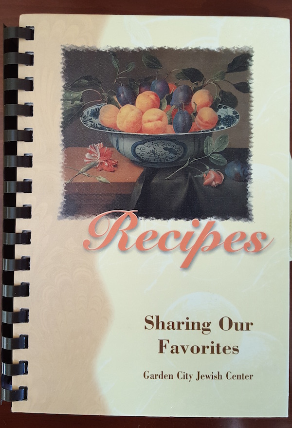 Garden City Jewish Center Recipe Book 2