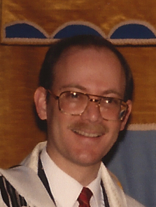 Rabbi Goodman in the 80's